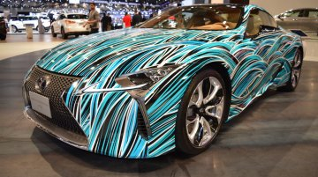 Lexus Fluidity of Hybrid Electric concept showcased at the 2017 Dubai Motor Show