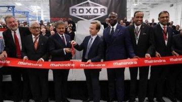 Mahindra's facility in Detroit to manufacture the Mahindra Roxor off-roader
