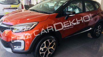 Renault Captur spotted at a dealership ahead of launch this week - Report