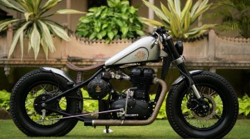 Royal Enfield Classic 500 'Matilda' by Rajputana Customs