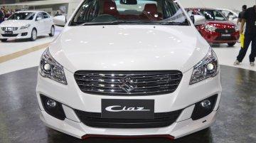 Suzuki Ciaz S-Sporty body kit at Thai Motor Expo