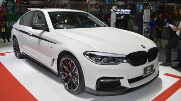 2017 BMW 5 Series with BMW M Performance accessories at 2017 Thai Motor Expo