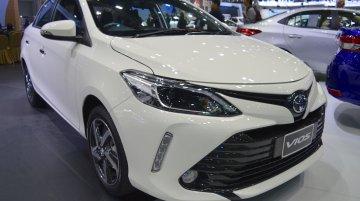 2017 Toyota Vios at 2017 Thai Motor Expo - Live