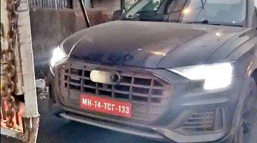 Audi Q8 spied testing in Mumbai [Video]