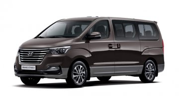 2018 Hyundai Grand Starex (facelift) launched in South Korea