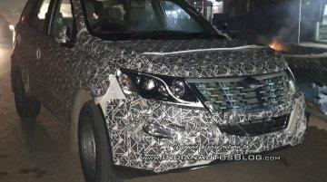 IAB reader spots the 2018 Mahindra XUV500 (facelift) on pre-launch test runs