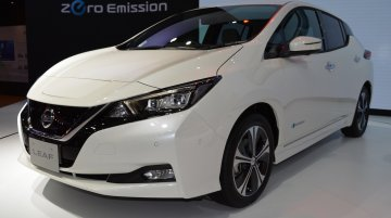 2018 Nissan Leaf at 2017 Thai Motor Expo