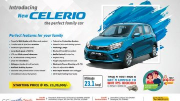 2018 Suzuki Celerio (facelift) launched in Nepal