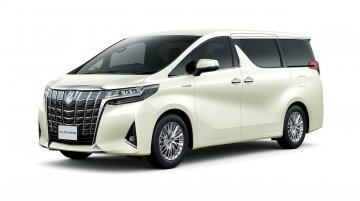 2018 Toyota Alphard (facelift) and 2018 Toyota Velfire (facelift) officially revealed