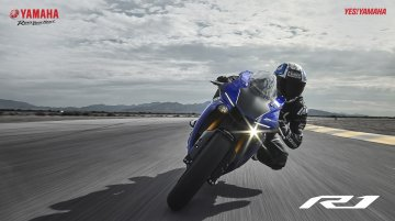 2018 Yamaha YZF-R1 launched in India at INR 20.7 lakhs
