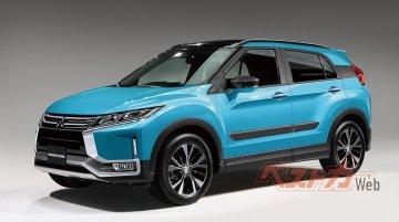 Next-gen Mitsubishi RVR - Rendering
