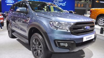 Accessorised Ford Everest at 2017 Thai Motor Expo