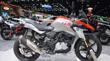 BMW G 310 GS at 2017 Thai Motor Expo