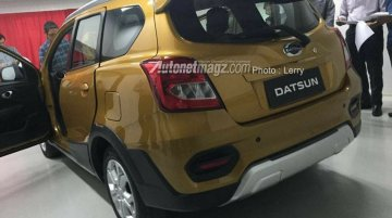 Purported Datsun GO Cross images surface online