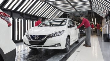 2018 Nissan Leaf enters production in Europe