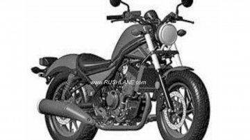 Honda Rebel 300 patented in India - Report