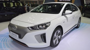 Hyundai Ioniq electric at 2017 Thai Motor Expo - Live