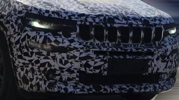 Jeep Grand Commander (Jeep 7-seat SUV) continues testing in China
