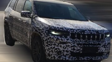 Jeep Grand Commander - Image Gallery (Spy Shots)