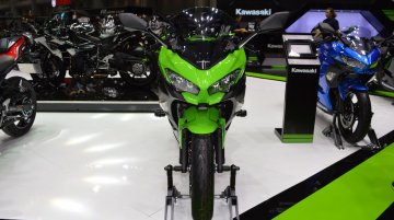 Kawasaki Ninja 400 KRT Edition & Metallic Spark Black at 2017 Thai Motor Expo - Live