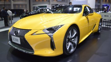 Lexus LC at 2017 Thai Motor Expo - Live