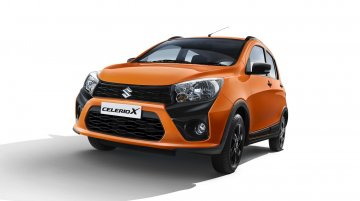 Maruti CelerioX launched at INR 4.57 lakhs