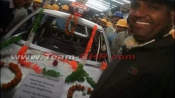 Current generation Maruti Swift production comes to an end