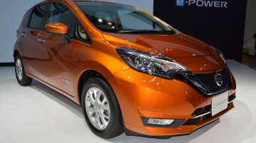 Nissan Note e-Power at 2017 Thai Motor Expo