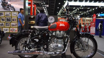 Royal Enfield Classic 500 Redditch at 2017 Thai Motor Expo