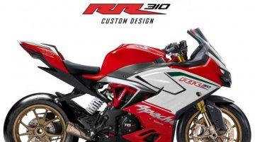 Custom TVS Apache RR 310 Rendered by Julak Sendie Design