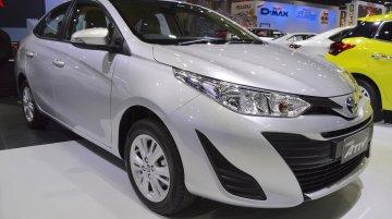 Toyota Yaris Ativ at 2017 Thai Motor Expo