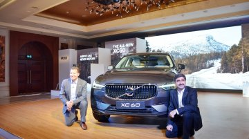 2017 Volvo XC60 launched in India priced at INR 55.90 lakhs