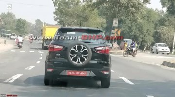 2018 Ford EcoSport Signature edition spied on test