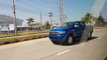2018 Ford Ranger (facelift) spied completely undisguised in Thailand
