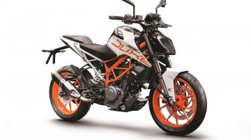 2018 KTM 390 Duke white colour variant launched officially