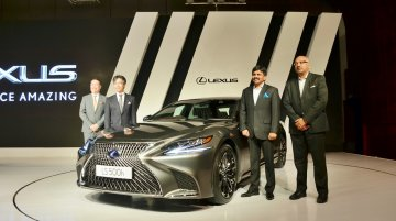 Lexus LS500h launched in India at a starting price of INR 1.77 crore
