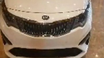 2019 Kia Optima (2018 Kia K5) exterior leaked