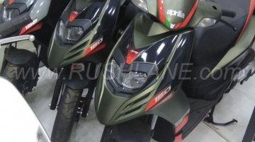New colour variants of Aprilia SR 150 spotted again