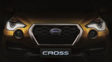 Datsun Cross teased ahead of world premiere this month