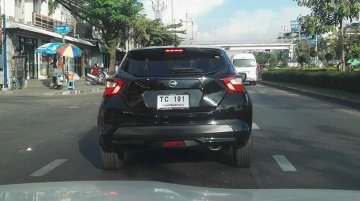 Fifth-gen Nissan Micra spied testing in Thailand