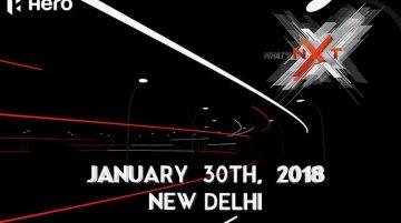 Hero Xtreme NXT (Production Hero Xtreme 200S) India unveil on January 30