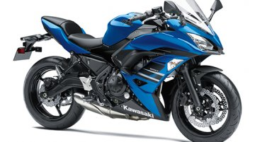 2018 Kawasaki Ninja 650 Candy Plasma Blue colour launched at INR 5.33 lakhs
