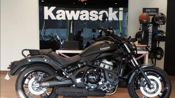 Kawasaki Vulcan S arrives at dealership ahead of its official unveil