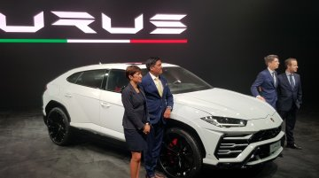 Lamborghini Urus launched in India, priced at INR 3 crore