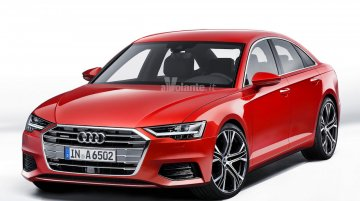 Sharper, sportier and tech-laden next-gen Audi A6 to go on sale this year - Rendering