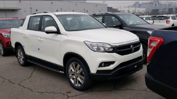 SsangYong Rexton Sports spied again, to go on sale next week