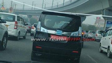 Suzuki Solio spotted on Indian roads
