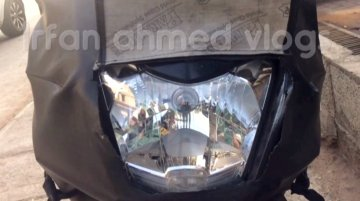 TVS Graphite scooter spied in Bengaluru, reveals more details