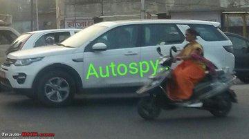 Tata Q501 SUV spied testing yet again