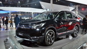 2018 Honda CR-V - Auto Expo 2018 Live